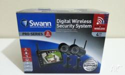 BRAND NEW BOX SWANN SWADW-340PK2-AU WIRELESS CAMERA x