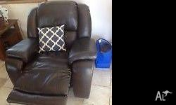 I am selling my swivel recliner that is in great