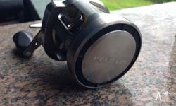 Team Daiwa pluton 200sh right hand reel. 300m of fresh