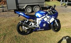 up for sale is my 2000 model yzf r6. I have owned this