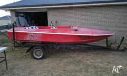 I have a swiftcraft stilletto ski boat, its 14ft