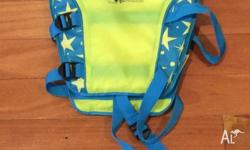 Swimming aid vest size 3-4 years (15-18kgs) Pick up