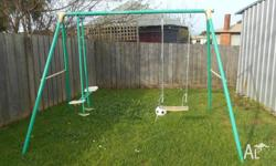 swing set used condition pick up burnie $20 may take