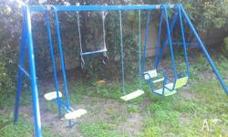 Good condition. Includes slide and four separate