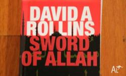 Sword of Allah by David A Rollins Paperback 517pp VGC