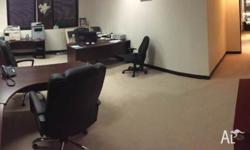 Large fully furnished office located in Sydney CBD.