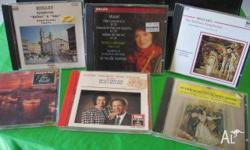 collection of C.D,s22 old classical symphony e.g.Mozart