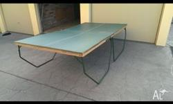 Table tennis / ping pong table for quick sale Quite old