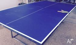 Table Tennis Table Top With top frame just needs square
