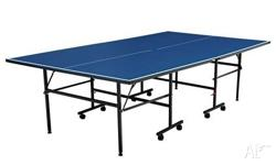 This entry level Dragonfly table tennis table is great