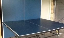 Good condition.two fold-up boards. Includes 4x bats,