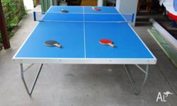 Up for sale is our Table Tennis Table which has