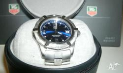TAG HEUER 2000 SERIES WRIST WATCH MODEL WN1112. THIS