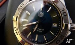 A lovely authentic Tag Heuer Aquaracer diving watch