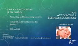- Accounting and Bookkeeping Services - Individual and