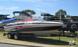 TAHOE Q6 6.24M, 2006, WHITE/BLUE, Bowrider, MONSTER