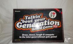 TALKIN' 'BOUT YOUR GENERATION BOARD GAME. 2009. Based