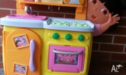 Talking Dora Kitchen in great condition.