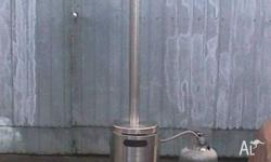 Up for sale is a Gas Outdoor Heater, it's made from