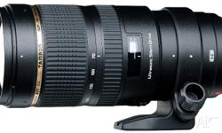 Hi, up for sale is an Tamron SP 70-200mm F2 8 DI VC USD