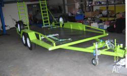 This Very Cool Tandem Car Trailer Is Up for sale With