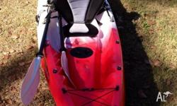 Tandem Eco Sport Kayak with accessories: 2x Carbon