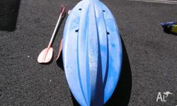 3.7m x 900mm Ocean Kayak (Malibu Two). Two plus child