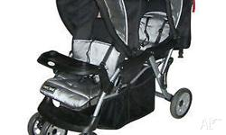 love 'n' care stroller for sale grey and black few