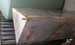TANK marine grade stainless steel used for water but