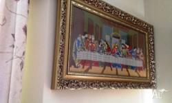 Relocation Sales - Last Supper Tapestry in eleborate
