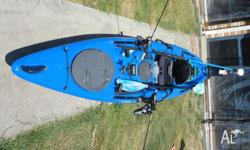 Great Fishing Kayak. Comes with Garmin 300c Dual Beam