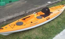 �Light weight and built to last, This kayak is built