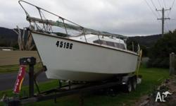 Designed by Murray Isles as a 7m (23 ft) racing and