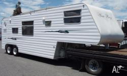 Tavera 5th Wheeler, 2003, White, 5th Wheeler, 2003