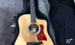 Taylor 210ce Acoustic Guitar. Excellent condition, used