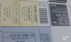 Taylor Swift concert ticket for sale Its on Saturday