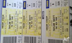Taylor Swift x 3 tickets Section 319 Row 25 in Brisbane
