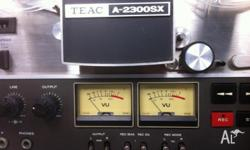 TEAC 2300SX Reel to Reel Tape Player Clean Unit! Powers