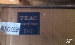 TEAC ST-2 Universal Speaker Stand Set New in a box,