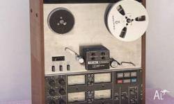 This reel to reel tape deck - a 4 channel Simul-Sync