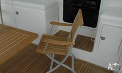 Teak Line Deck Chair - TL880, Boat Accessory, Teakline
