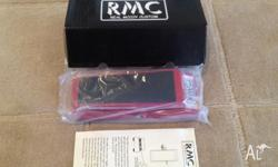 Up for sale is my Tease RMC 5 wah pedal? (Also known as
