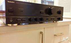 TECHNICS AMPLIFIER RECIEVER 100 WATTS PER CHANNEL
