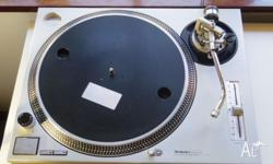 Selling my Technics SL-1200mk2 turntable. It is in