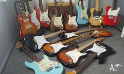 I'VE BEEN TOLD I HAVE WAY TOO MANY GUITARS, THESE ARE
