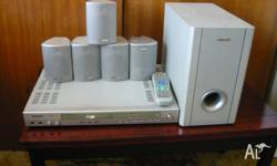 telefunken dvd 5.1 home theatre system.in very good