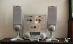 Up for sale is a Telefunken hi-fi stereo system Its an