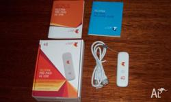 Telstra 4G Pre - Paid USB Broad Band Stick, Super Fast
