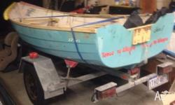Tender boat / dinghy wooden / fibreglass hull complete