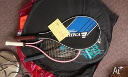Several tennis and squash raquets for IMMEDIATE SALE!!